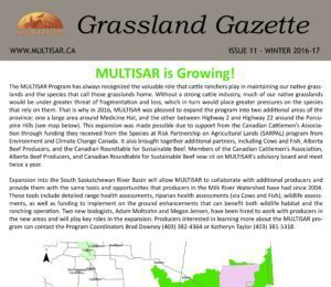 Grassland Gazette Winter 2016